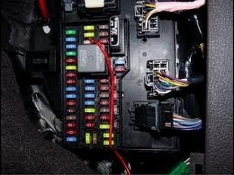 How to find fuse box on a 0411 Ford F150 54 V3 Triton