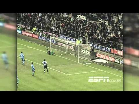 Newcastle 4 x 0 Tottenham - Campeonato Inglês 2003/2004