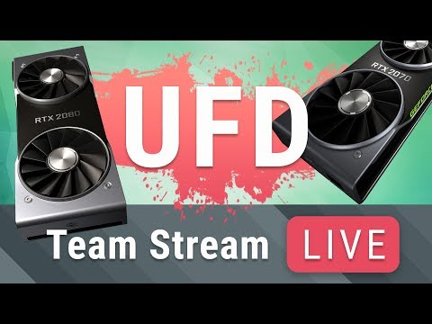 UFD Team Stream - RTX 2080 & 2080 Ti Reviews Are Out!