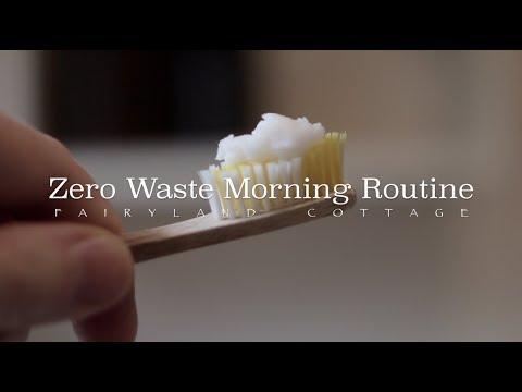 Zero Waste Morning Routine Before Work - Fairyland Cottage