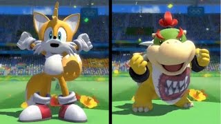 Mario and Sonic at the Rio 2016 Olympic Games (Wii U) - All Character Victory Animations