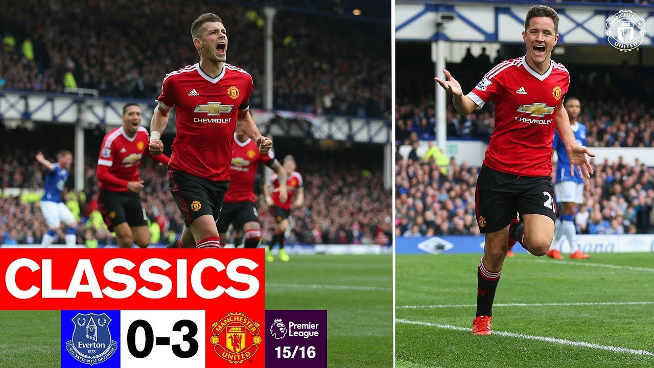 Classics 15 16 Everton 0 3 Manchester United Premier League Youtube