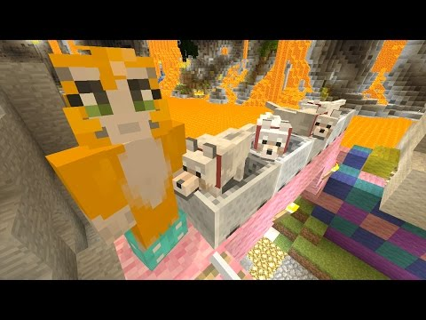Minecraft Xbox - Cave Den - Bouncy Animals (26)