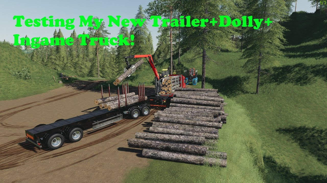 FS19 | Logging On Bergholmen | Testing My New Mods