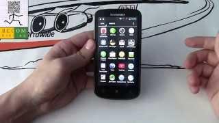 обзор смартфона LENOVO A800 ideaphone