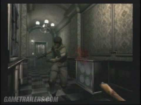 Resident Evil Remake Trailer 1 (GameCube)