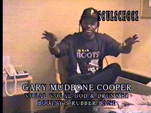 """Soul School Television Interview w/Gary """"MUDBONE"""" Cooper of Bootsy's Rubber Band - Pt.1"""