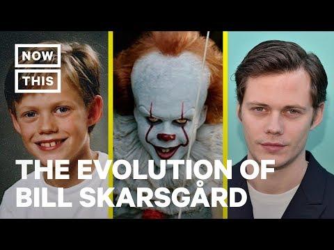 The Evolution Of Bill Skarsgård | NowThis