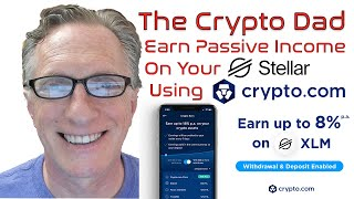 Earn up to 8% on Your Stellar Lumens (XLM) Using the Crypto Earn Program at Crypto.com