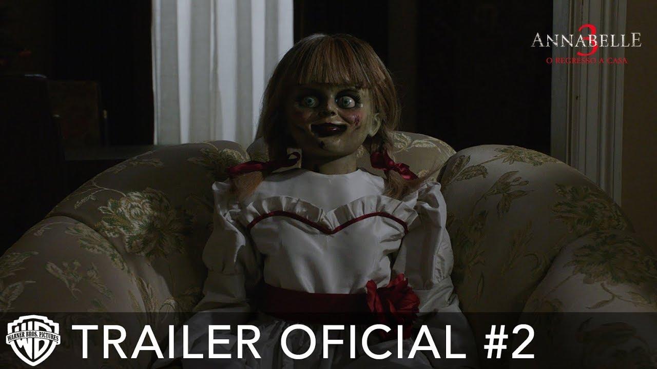 Annabelle 3 O Regresso A Casa – Trailer Oficial #2