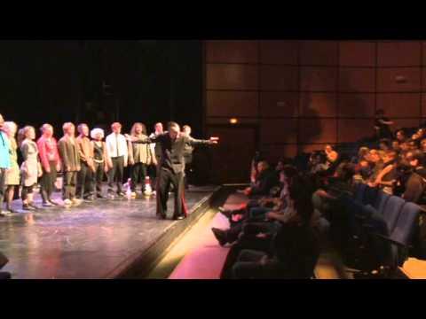 Benjamin NID - Le SPANG ! - Soundpainting w audience - Théâtre Universitaire Astrée  - 2012