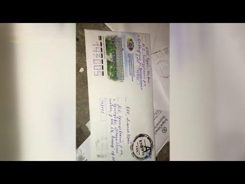 На свалке в Подмосковье обнаружены выброшенные пачки писем и бандероли.