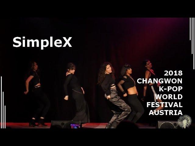 [2018 ChangFe Austria Finals] SimpleX / 4MINUTE - Crazy (미쳐)