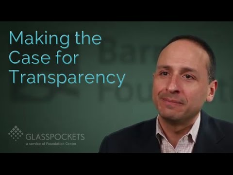 Glasspockets: Jim Canales, Barr Foundation