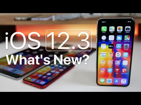 iOS 12.3 is Out! - What's New?