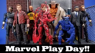 Marvel Play Day! Customs, 3D Prints, 3rd Party and Official Items for a 6-inch Display 03/04/19