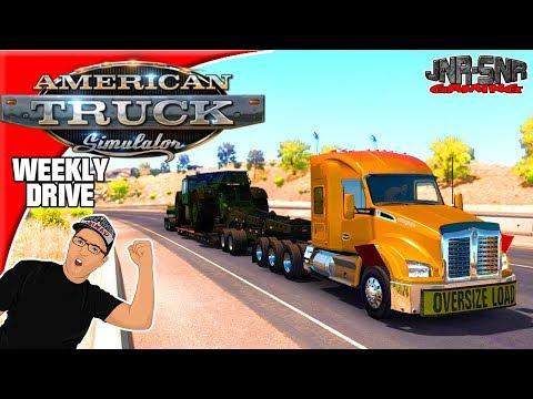 American Truck Simulator Mods Tom Dooley's Enhanced Kenworth T680 880 Weekly Drive