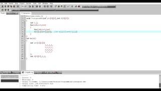 Find transpose of a matrix C Program