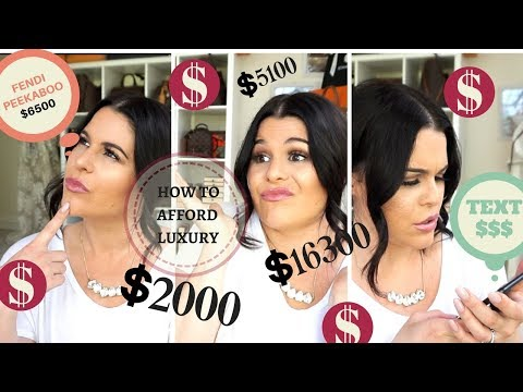 How I Afford LUXURY??!! MY Tips & Tricks |Jerusha Couture