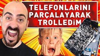 Download lagu TELEFONLARINI PARÇALAYARAK TROLLEDİM MP3