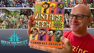 Marshall Julius Shares Huge Collection And Love Of All Things Geek!