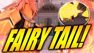 "FAIRY TAIL IS BACK ON ROBLOX! Magic Revelation ""New Fairy Tail Game"" 