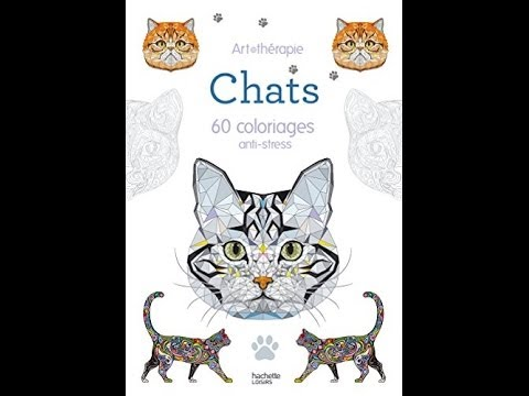 Telecharger Chats 60 Coloriages Anti Stress Pdf Epub Youtube