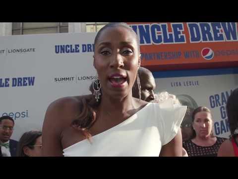 WNBA Legend Lisa Leslie Interview At Uncle Drew Movie Premier