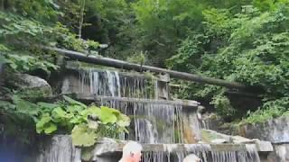 Водопад в Куртатинском ущелье