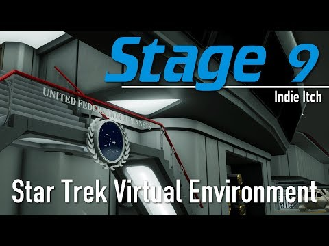 Indie Itch: Stage 9 + free download (TNG USS Enterprise Virtual Environment Simulator)