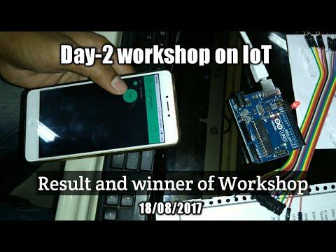 UIT-RGPV (Day - 2) workshop on internet of things