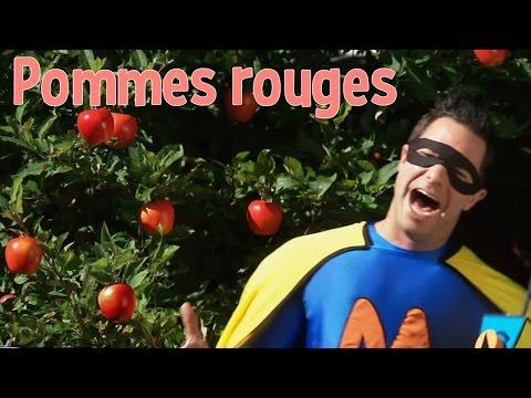 Super Mini à la rescousse : Pommes rouges