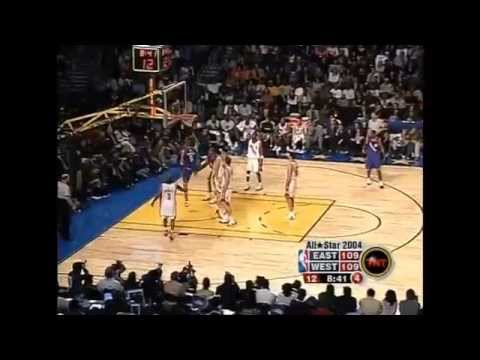 2004 NBA All-Star Game Best Plays (720p HD)