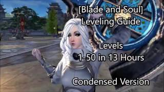 [Blade and Soul] Leveling Guide 1-50 in 13 hours!