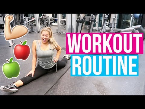 Download Youtube: MY WORKOUT ROUTINE!! Vlogmas Day 11!