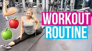 MY WORKOUT ROUTINE!! Vlogmas Day 11!