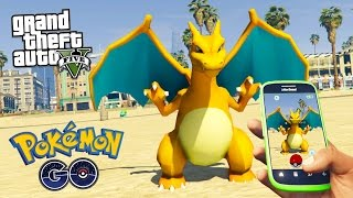 GTA 5 Mods - PLAYING POKEMON GO IN GTA 5 MOD!! GTA 5 Pokemon GO Mod Gameplay! (GTA 5 Mods Gameplay)