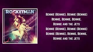 Taron Egerton - Bennie and the Jets Interlude (Lyrics)