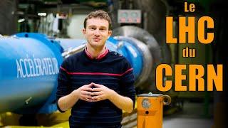 Le LHC 💥🧲🔬 : J'ai visité le plus grand accélérateur de particules du monde !