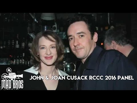 JOHN & JOAN CUSACK FRONT ROW RCCC 2016 PANEL