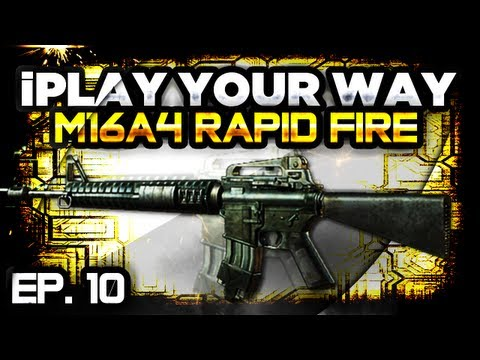 MW3 | iPlay Your Way - M16A4 Red Dot & Rapid Fire (Ep. 10)