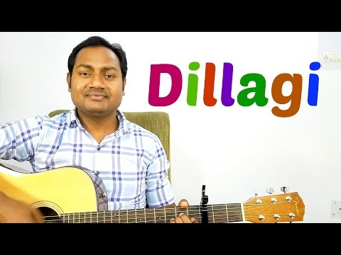 Dillagi | Rahat Fateh Ali Khan | Complete Guitar Lesson | Chords | Strumming | Cover |Mayoor