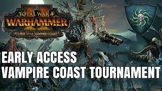 Curse of the Vampire Coast | Early Access Flash Tournament Ft. Spectator Mode -Total War Warhammer 2