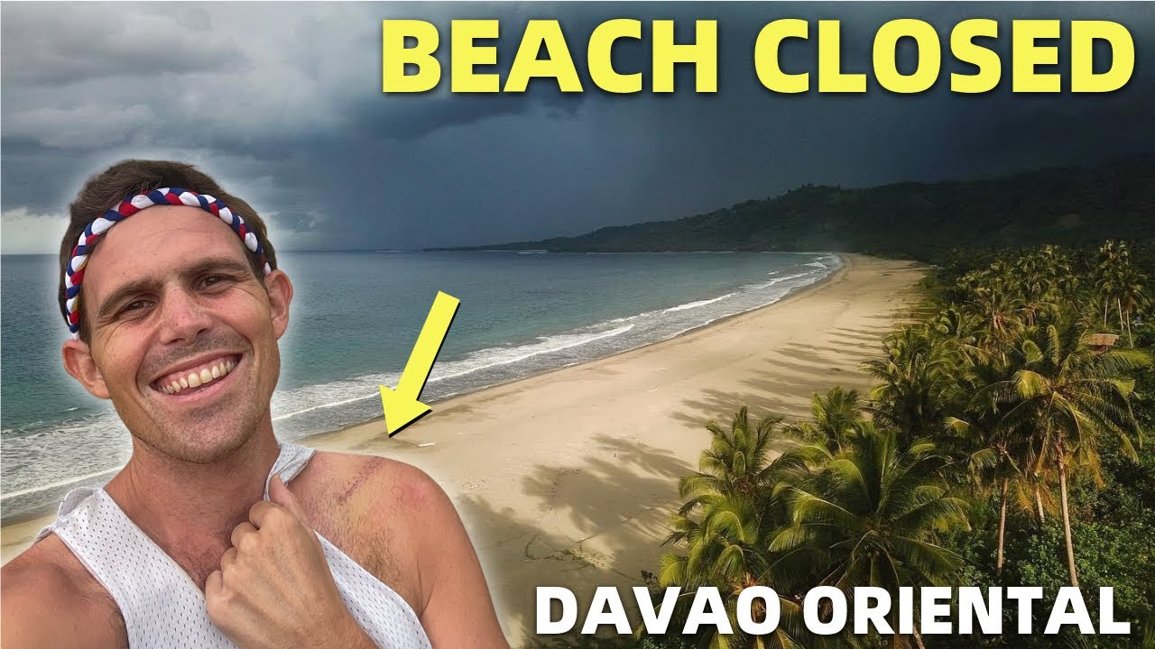 BEACH CLOSED - I Left And This Happened? Our Davao Home Is Changing! (Mindanao)