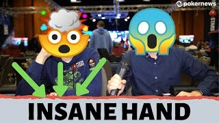 INSANE poker hand at the EPT PRAGUE Main Event