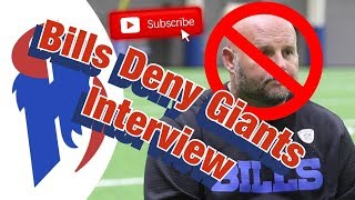 Buffalo Bills Deny Giants Request to Interview Brian Daboll