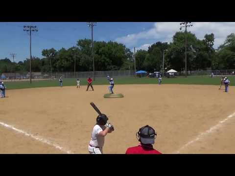 2 base hits, batter hit by pitch, and then GRAND SLAM BABY  MAH0044