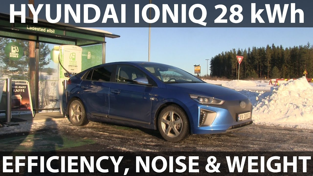 Hyundai Ioniq Efficiency Noise And Weight Tests