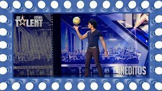 Este colombiano demuestra que lo suyo son las pelotas | Inéditos | Got Talent España 2018