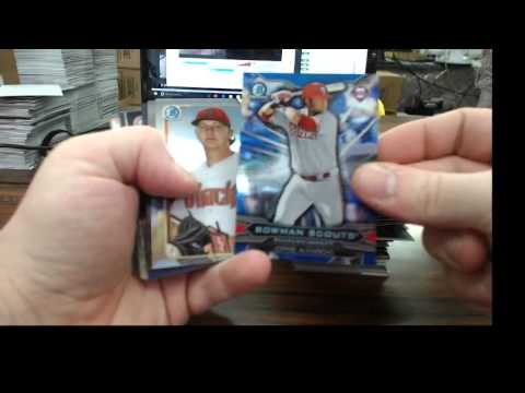 2015 Bowman Draft ASIA Edition caseyt MUST SEE TO BELIEVE